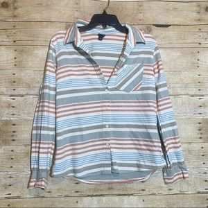 Patagonia striped button up